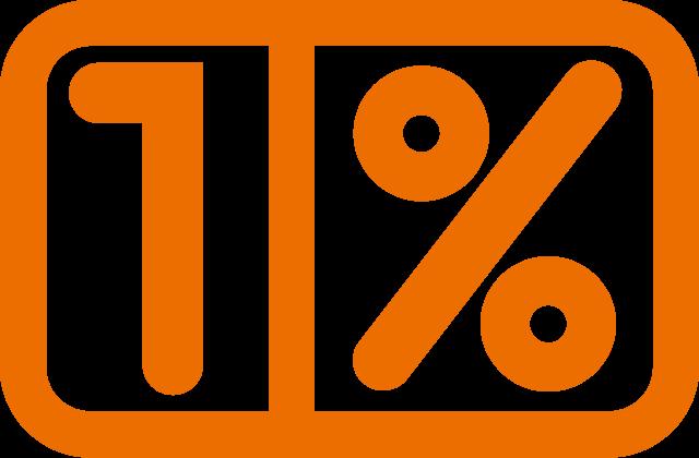 Jeden procent - logo